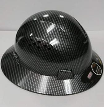 TRUECREST Hydro Dipped Full Brim Hard Hat