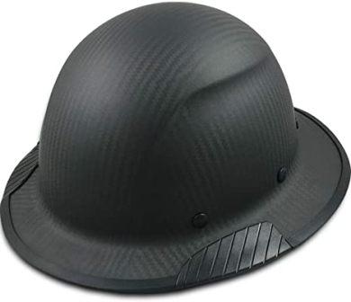 Texas America Safety Company Actual Carbon Fiber Full Brim Hard Hat