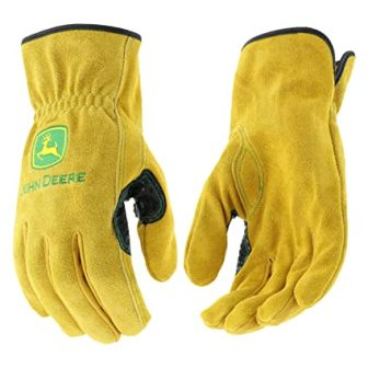 West Chester JD00004 John Deere Leather Gloves