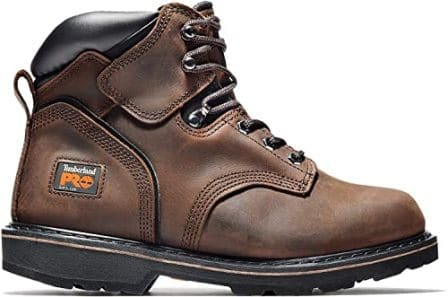 6-inch Pit Boss work boots by Timberland Pro