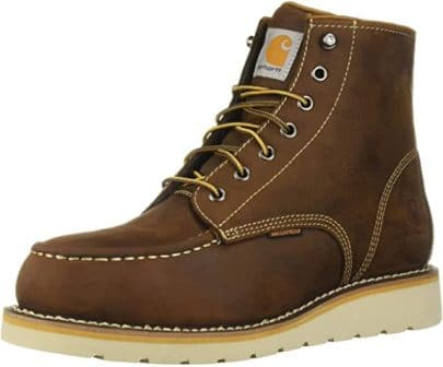 6-inches wedge boots by Carhartt