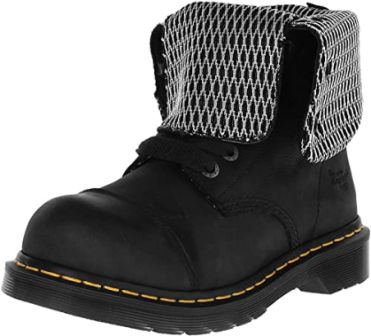 Dr Martens Black Newark Moisture-Wicking Shoes