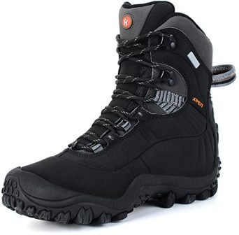 Manfen Thermator Hiking/Cold Weather Work Boots for Women with Advanced Technology