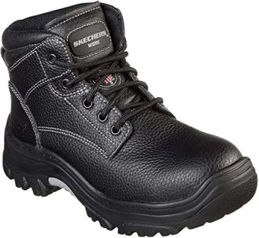 Skechers Burgin-Krabok Boots for Comfort Style & Protection