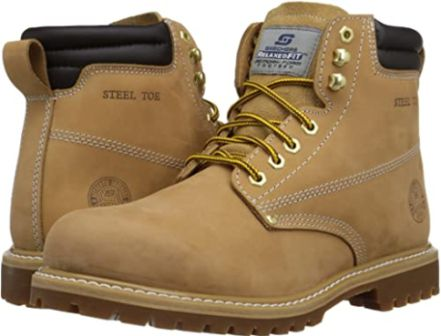 Skechers Men's Foreman Concore Steel-Toe Boot 2020