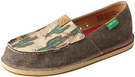 Twisted X Women's Handcrafted Flat Eco-Friendly Casual Slip-On Loafers