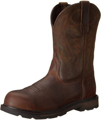 ARIAT GROUNDBREAKER PULL-ON STEEL TOE WORK BOOT