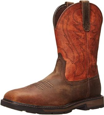 Ariat Groundbreaker Square Toe Work Boots