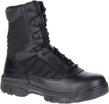 "BATES 8"" ULTRALITE TACTICAL SPORT SIDE ZIP WORK BOOT"