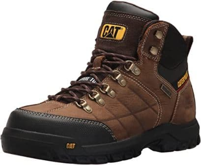 CATERPILLAR THRESHOLD WATERPROOF STEEL TOE WORK BOOT