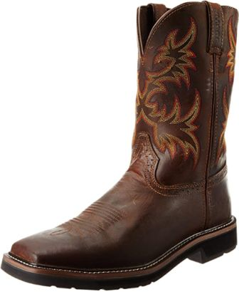 Justin Original Men's Stampede Work Boot 2020