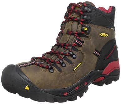 "KEEN UTILITY PITTSBURGH 6"" STEEL TOE WORK BOOTS"