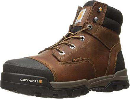 Carhartt Men's 6″ Energy Brown Soft Toe Boot