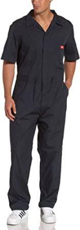 Dickies Men's Poplin Short Sleeve Coverall