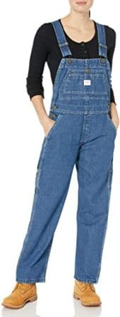 Key Women's Denim Bib Overall