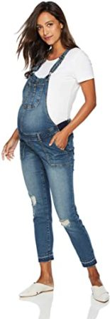 Motherhood Maternity Women's Denim Overalls