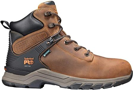 Timberland PRO Men's Hypercharge 6″ Soft Toe Boot