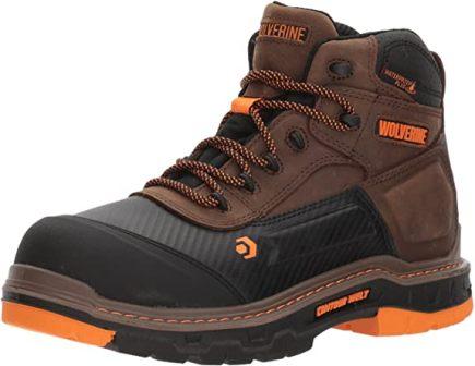 Wolverine Men's 6 Inch Waterproof Work Shoe