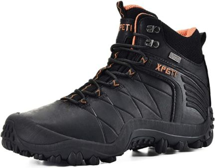 XPETI Quest Mid-rise Leather Hiking Boots