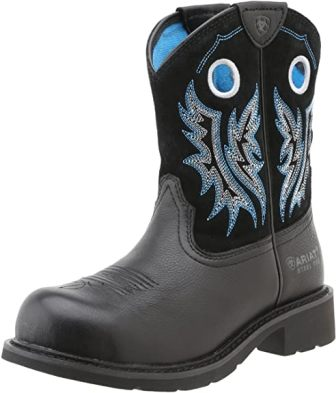 Ariat Fatbaby Slip-on Work Boots for Women