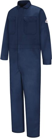 BULWARK MEN'S FLAME RESISTANT 9 OZ DELUXE COVERALL