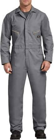 DICKIES MEN'S DELUXE LONG SLEEVE BLENDED COVERALL