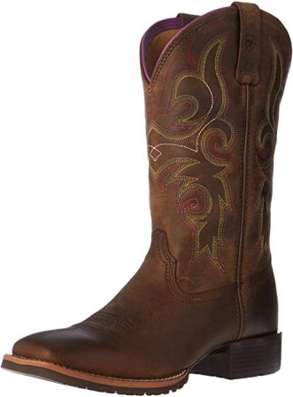 Justin Boots Square-toe Slip-on Work Boots for Women