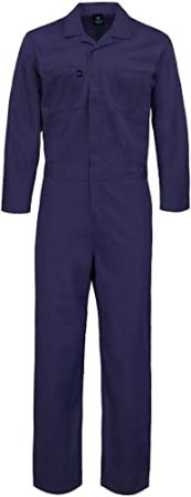 KOLOSSUS DELUXE LONG SLEEVE COTTON BLEND COVERALL