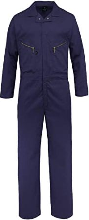 KOLOSSUS PRO-UTILITY COTTON BLEND LONG SLEEVE COVERALL