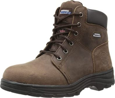 Petrass Slip-on Work Boots for Women
