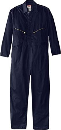 WALLS WORK MEN'S LONG SLEEVE TWILL COVERALL
