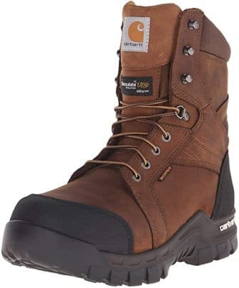 Carhartt Men's 8″ Insulated Waterproof Work Boot