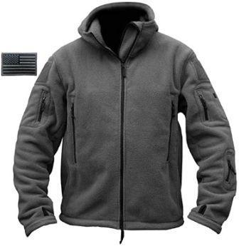 Fleece Hoodie Tactical Force Unisex Jacket by ReFire Gear