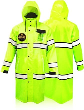 KwikSafety (Charlotte, NC) Class 3 Safety Trench Coat