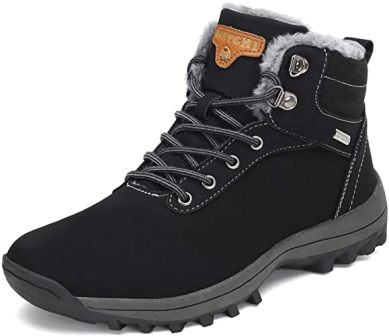 Mishansha Winter Ankle Snow Hiking Boots