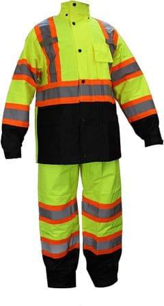 RK Safety RW-CLA3-TLM55 Class 3 Rain suit