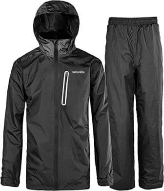 SWISSWELL Men's Waterproof Rain Suit Waterproof