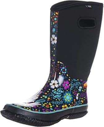 WTW Women's Floral Rain Boots