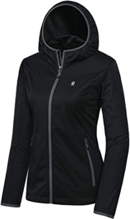 Water-Repellent Softshell Jacket With Hoodie by Little Donkey Andy
