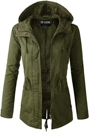 Women's Anorak Military Jacket by TOP LEGGING