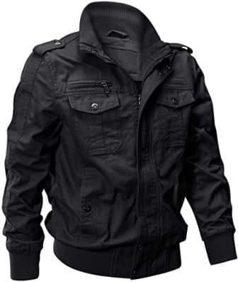 Eklentson Multi-Pockets Military Tactical Jacket
