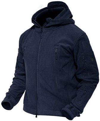 Magcomsen Hooded Men's Tactical Jacket