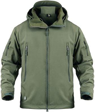 ReFire Gear Fleece Tactical Jacket for Men