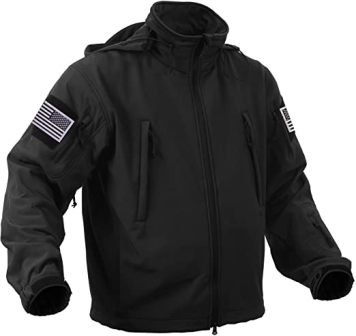 Rothco Special Ops Tactical Jacket with Patches (Soft Shell)