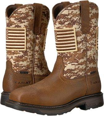 Camo Work Boots