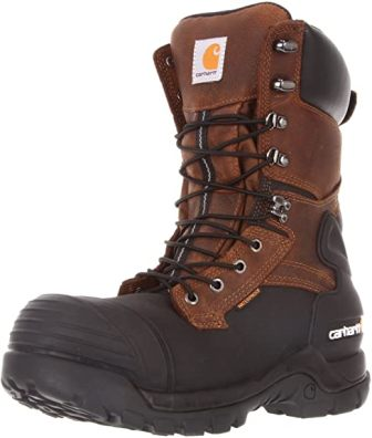 Carhartt 10-inch Waterproof Insulated PAC Composite Toe Boots