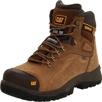Caterpillar Diagnostic Waterproof Steel-Toe Work Boots