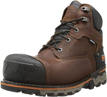 Timberland PRO 6-inch Boondock Comp Toe WP Insulated Industrial Work Boots