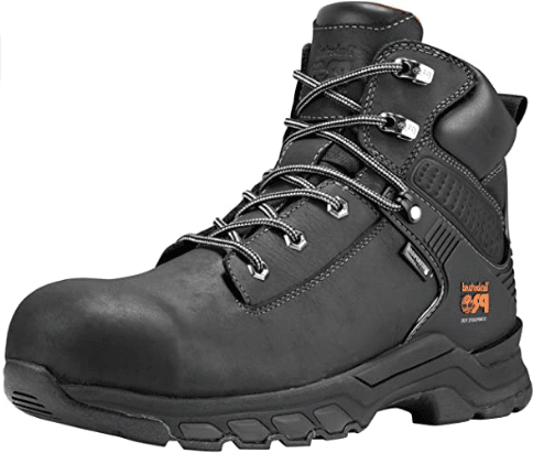 Timberland PRO Men's Hypercharge 6-Inch Composite Toe Waterproof Industrial Boot