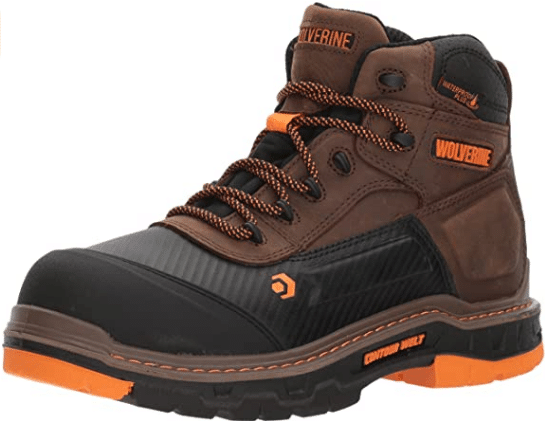 Wolverine Men's Overpass 6-Inch Composite Toe Work Boot